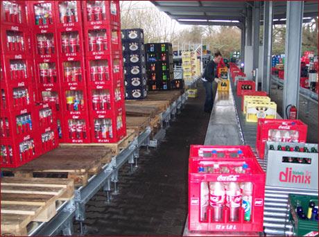 Anlagentechnik 4 - Beispiel: Halbautomatische Kastensortieranlage